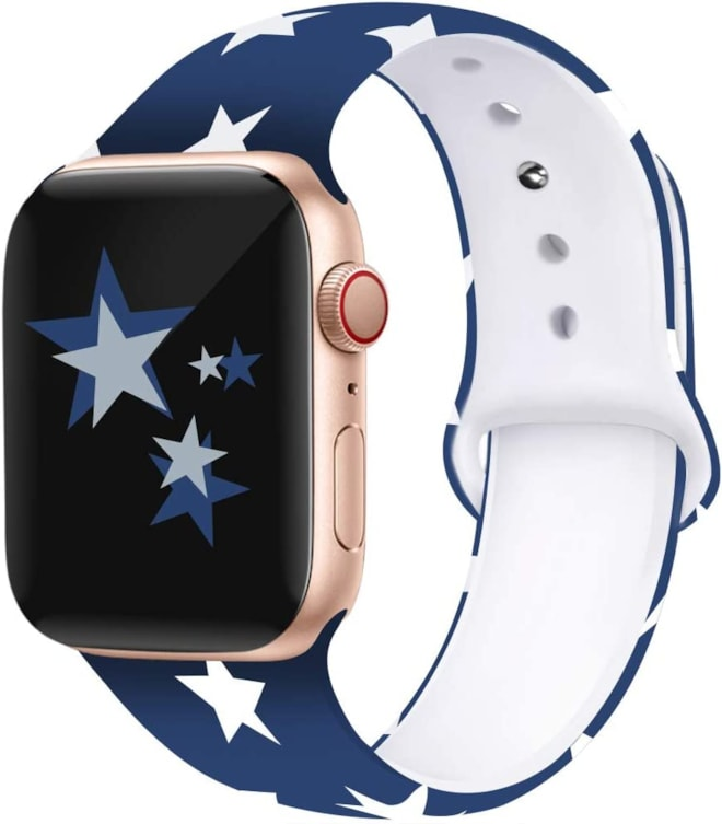Stars Apple Watch Compatible Band