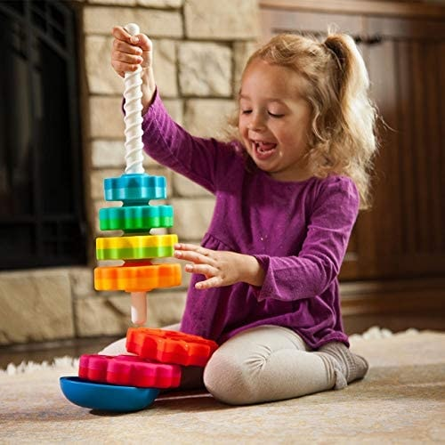 Fat Brain Toys Spin Again Toy Baby
