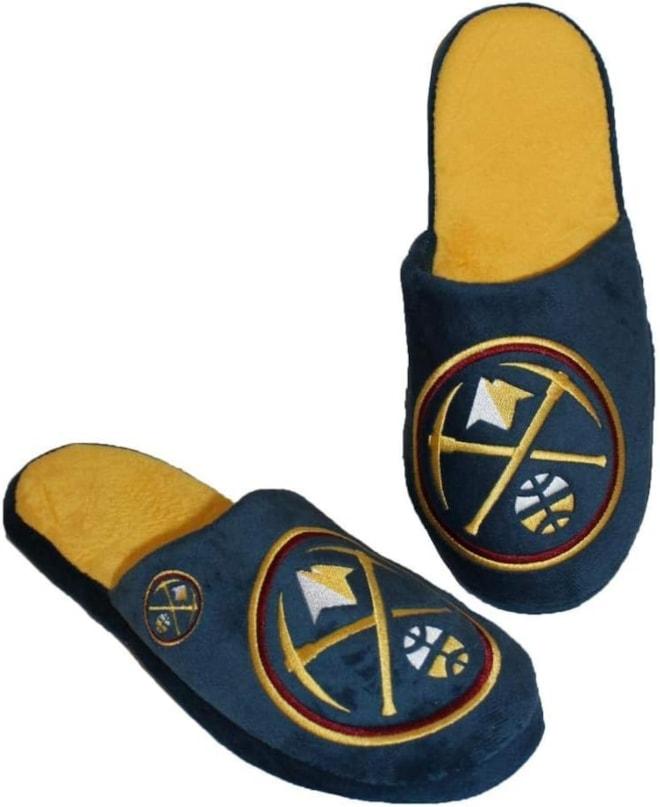 Denver Nuggets Men's Slippers