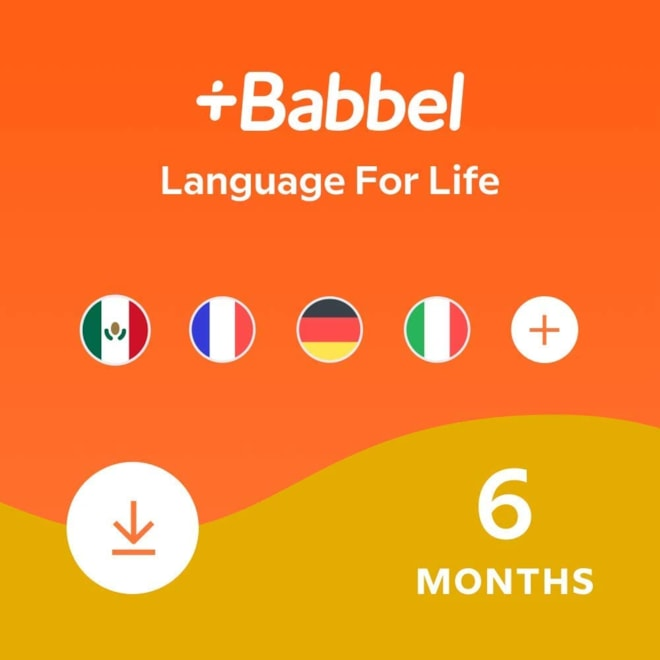 Babbel: Learn a New Language - 6 Month Subscription
