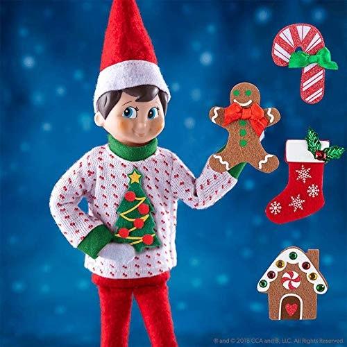 The Elf on the Shelf Sweater Set