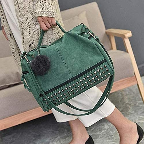 Studded Crossbody Tote