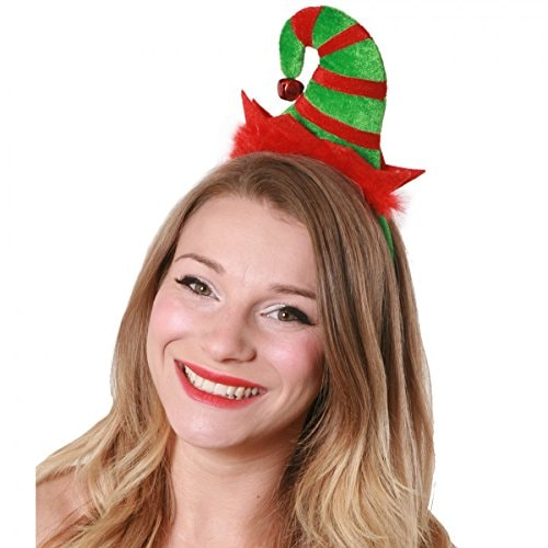 Fun-Filled Christmas and Holiday Party Mini Elf Headband