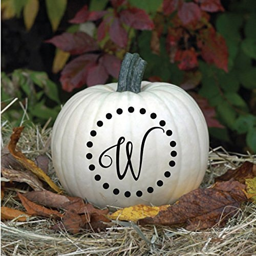 Personalized Pumpkin Vinyl Decor