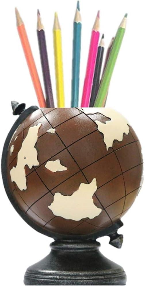 Globe Desk Pen Holder