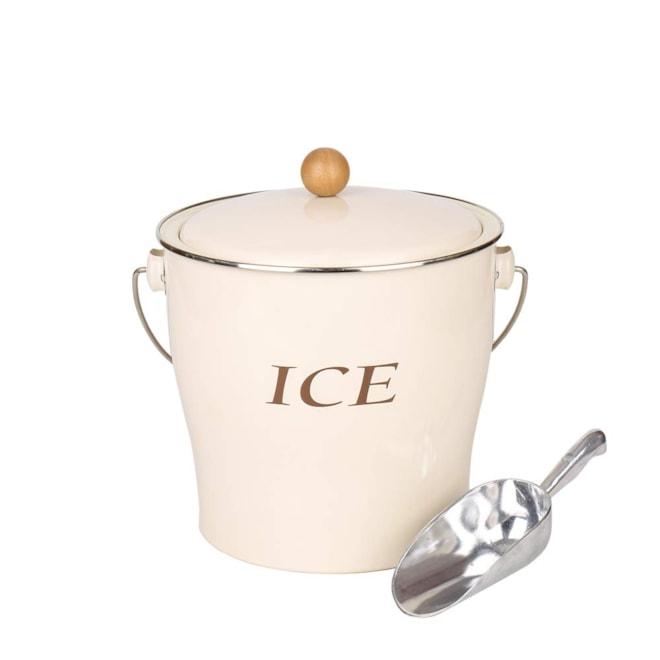Metal Ice Bucket Set