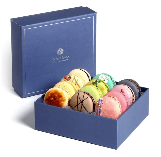 French Macarons Gourmet Gift Box