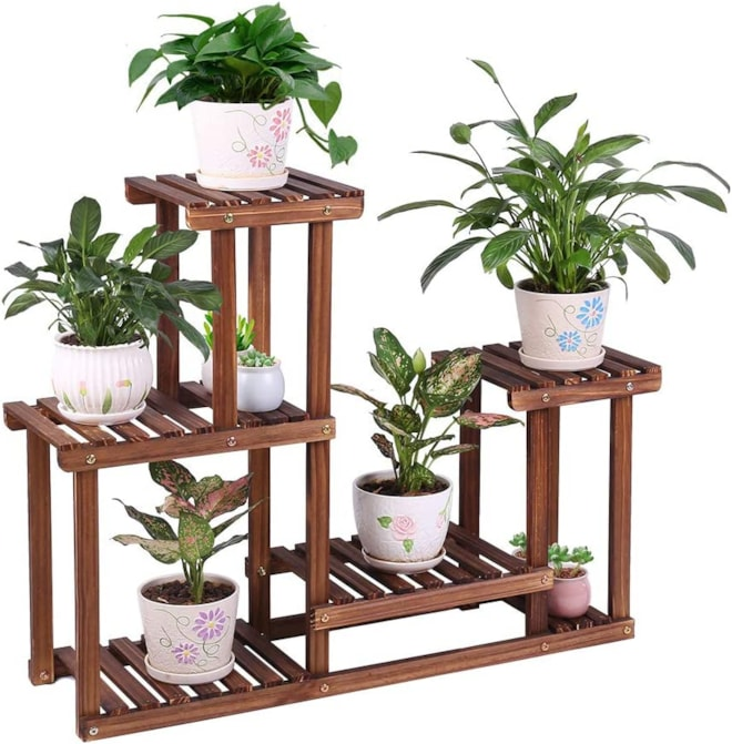 Pine Wood Plant Stand
