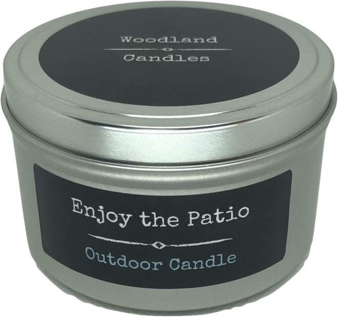 Enjoy The Patio Outdoor Candle