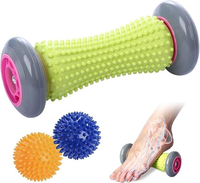 Foot Roller Massage Ball-Plantar Fasciitis & Reflexology