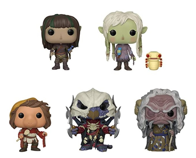"Funko Pop! Television: The Dark Crystal Collectible Vinyl Figures, 3.75"" (Set of 5)"