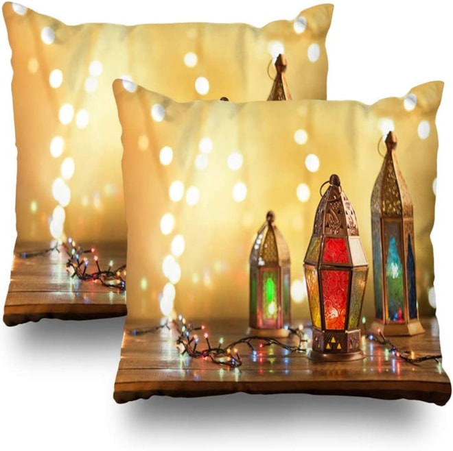 Lantern Throw Pillow Covers