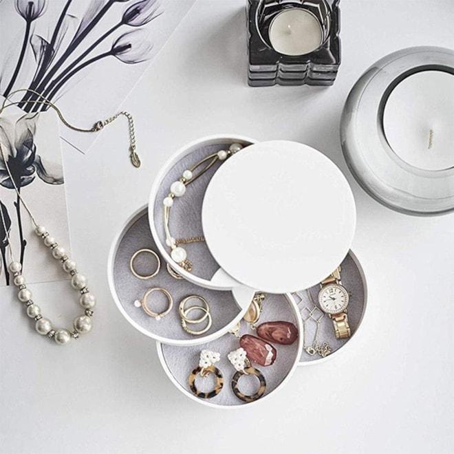 4-Layer Jewelry Storage