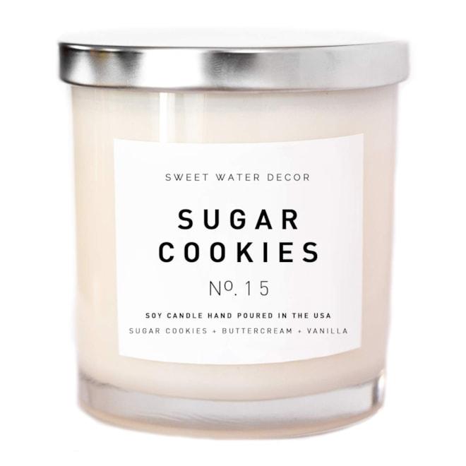 Sugar Cookies Natural Soy Wax Candle