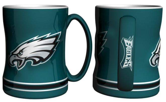 Philadelphia Eagles Logo Relief Coffee Mug