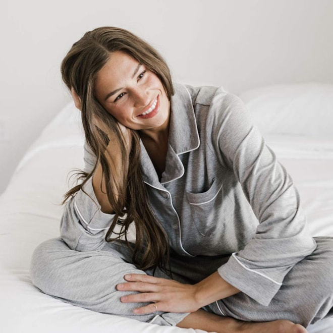 Cozy Earth Stretch-Knit Bamboo Pajama Set