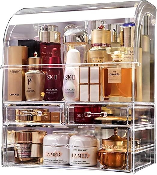 Large Cosmetic Makeup Organizer Dust Water Proof