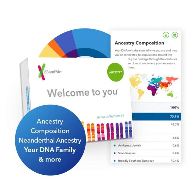 23andMe Genetic Service Kit