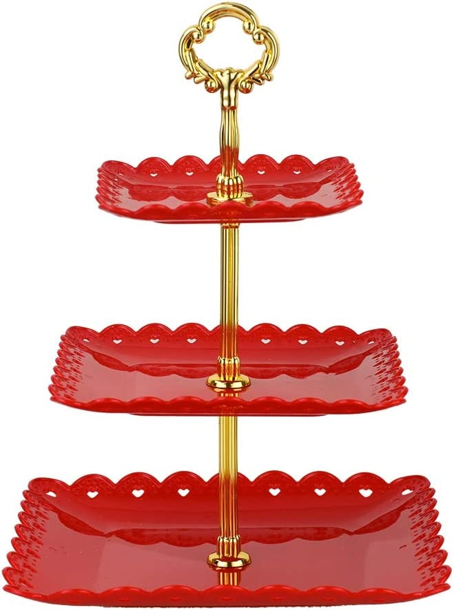 Large 3 Tiered Serving Stand Tray