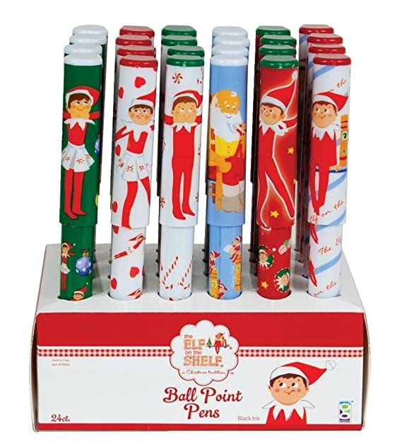 Raymond Geddes Elf on the Shelf Ball Point Pens
