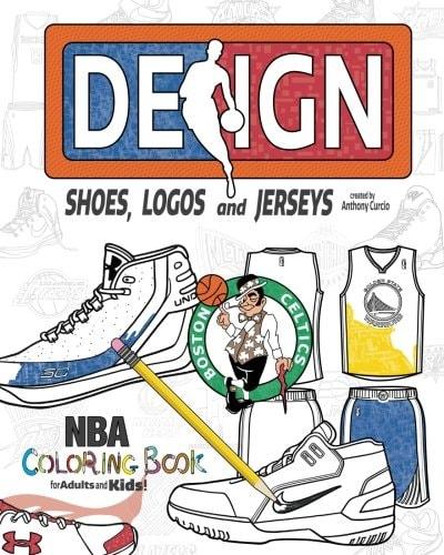 NBA Design: The Ultimate Creative Coloring Book