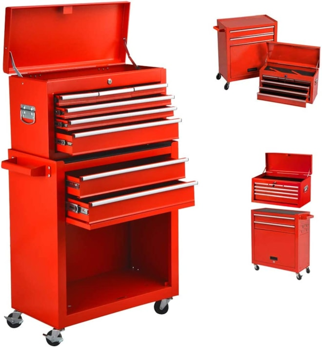 High Capacity Rolling Tool Chest