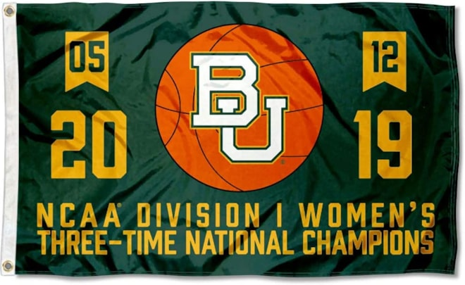 Baylor Bears Women's Division Champs Banner