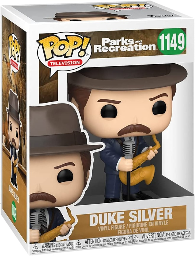 Parks and Rec Duke Silver Funko Pop!