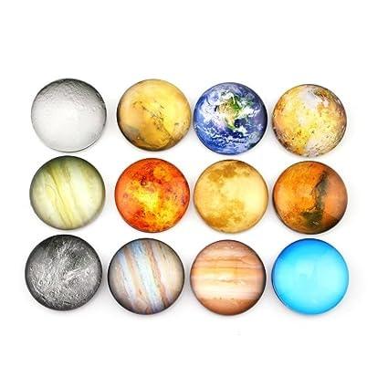 Planetary Refrigerator Magnets