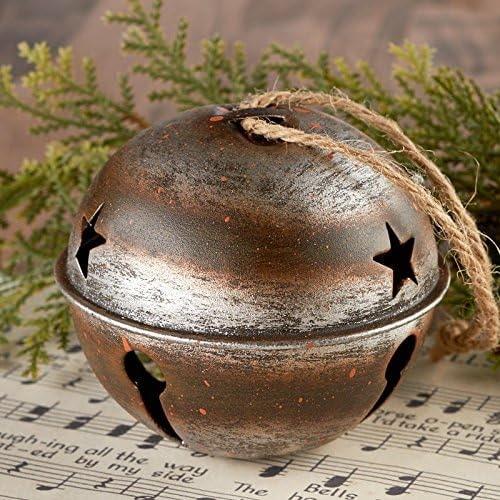 Rustic Jingle Bell Ornament