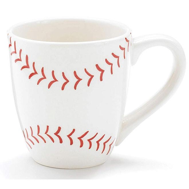 Ceramic Baseball Mug