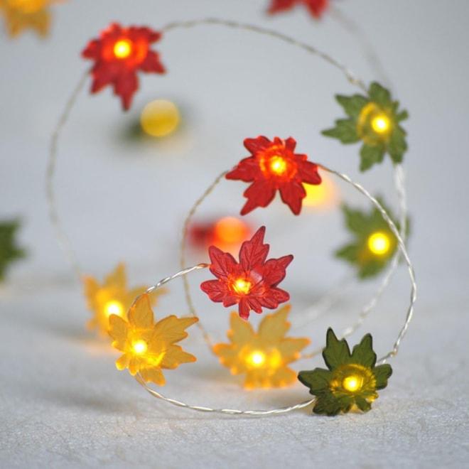 Maple Leaf Fairy Lights