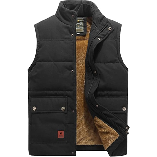 Warm Outdoor Puffer Vest