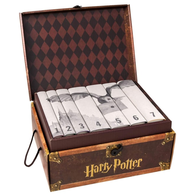 Harry Potter Book Set in Custom Book Jackets - Hogwarts Edition