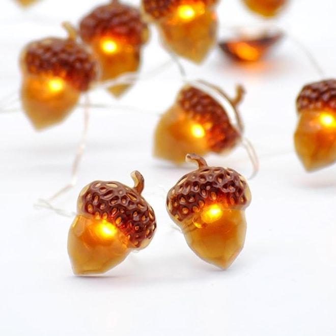 Acorn String Lights