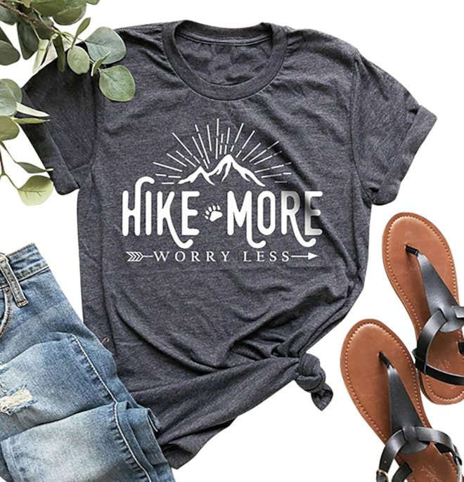 Hike More Worry Less T Shirt