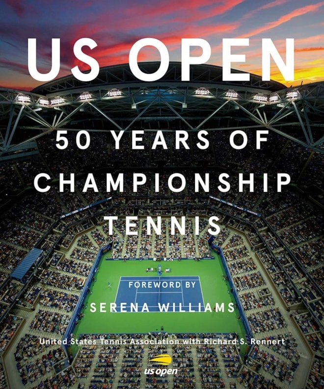 US Open Tennis Book 50th Anniversary