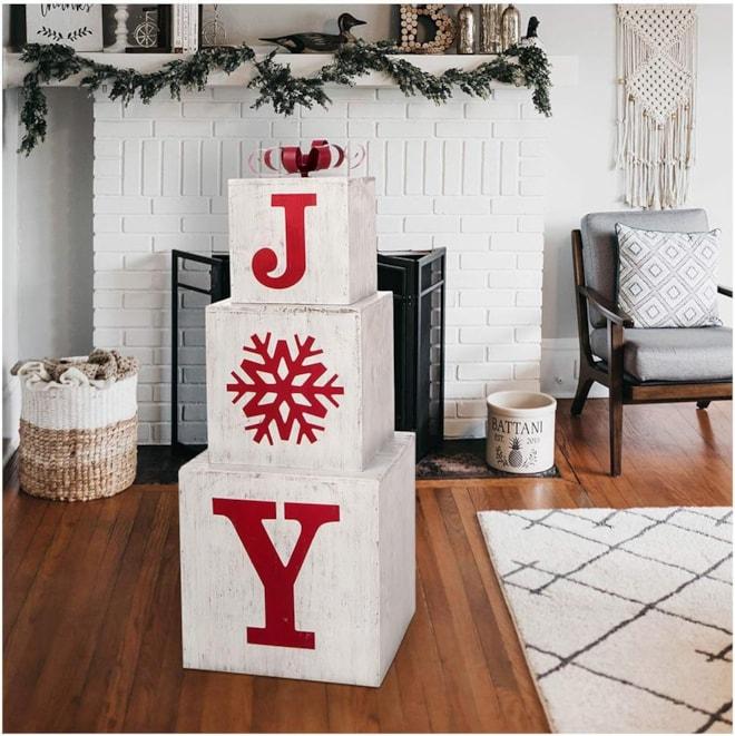Stacking Joy Boxes