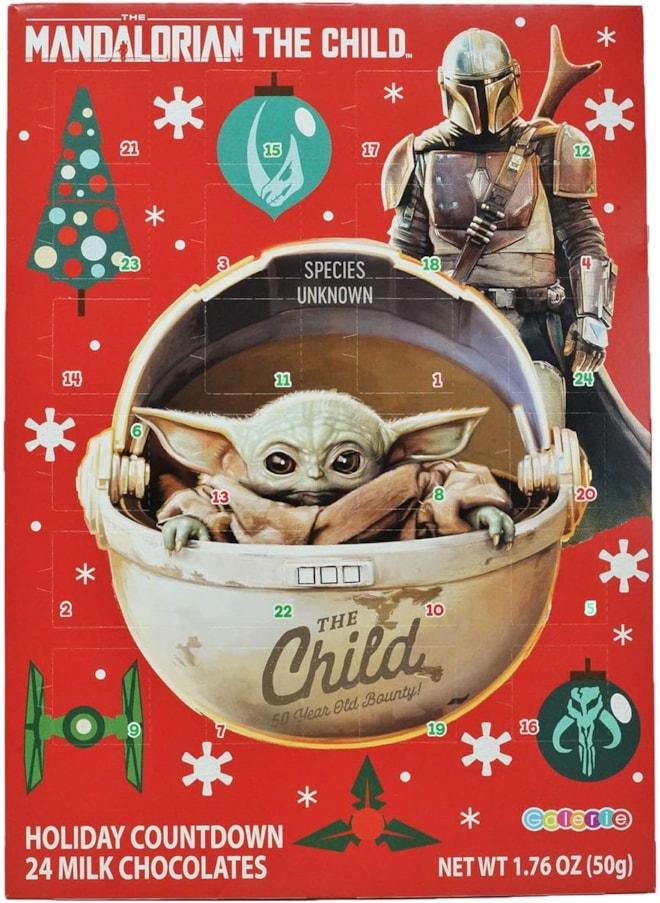Mandalorian Child Chocolate Advent Calendar