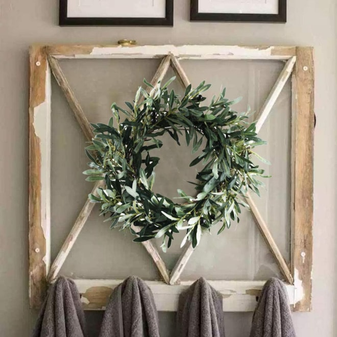 Olive Wreath for Decor