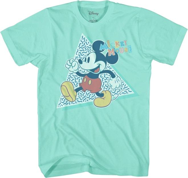 Disney Mickey Mouse 90s Nostolgia Classic Retro Vintage Tee