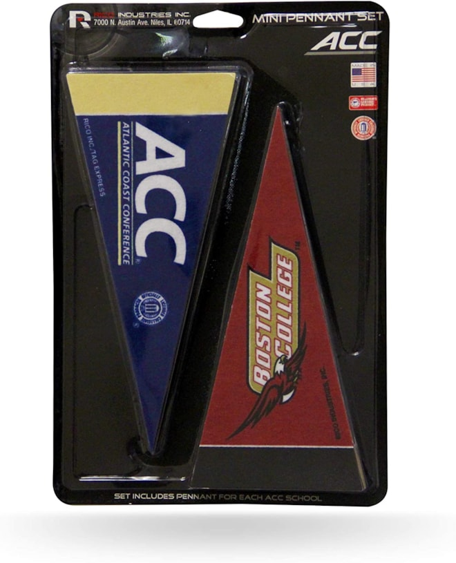 NCAA ACC Mini Pennant Set