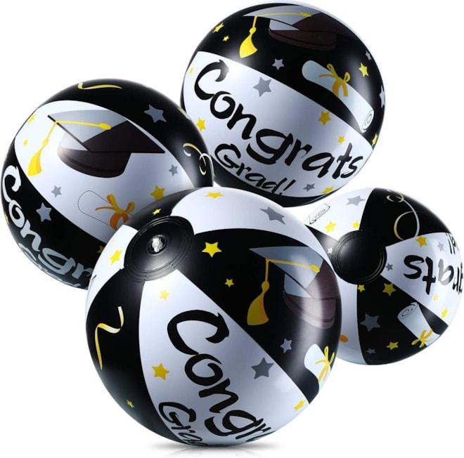 Inflatable Beach Balls for Graduation (4)