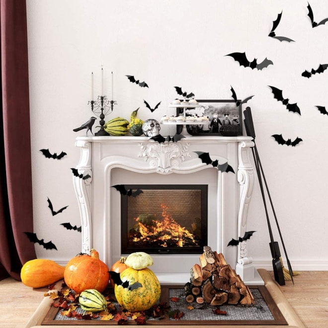 Halloween 3D Bat Set
