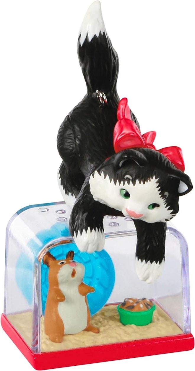 Hallmark Keepsake 2020, Mischievous Cat and Hamster