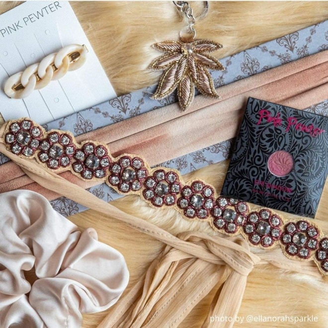 Pink Pewter Monthly Glam Box Subscription Club