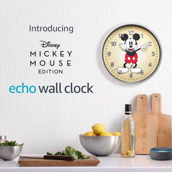 Echo Wall Clock Mickey Mouse Edition