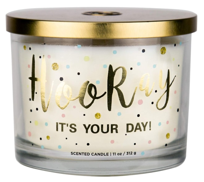 Aromascape Hooray it's Your Day Candle