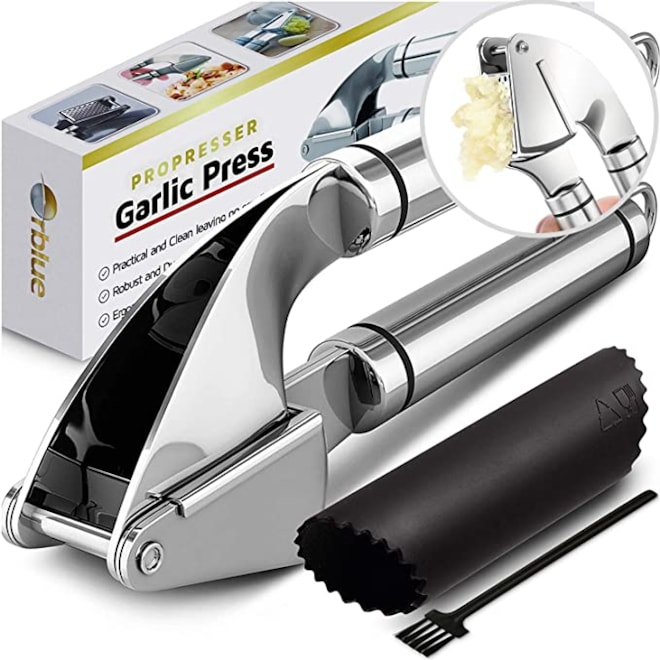 Propresser Garlic Press Stainless Steel