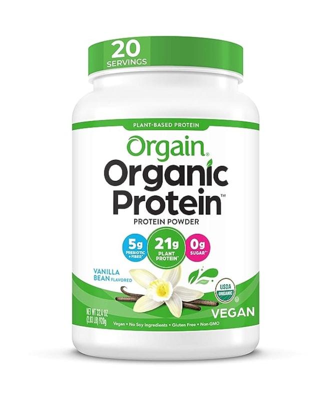 Organic Plant Based Protein Powder